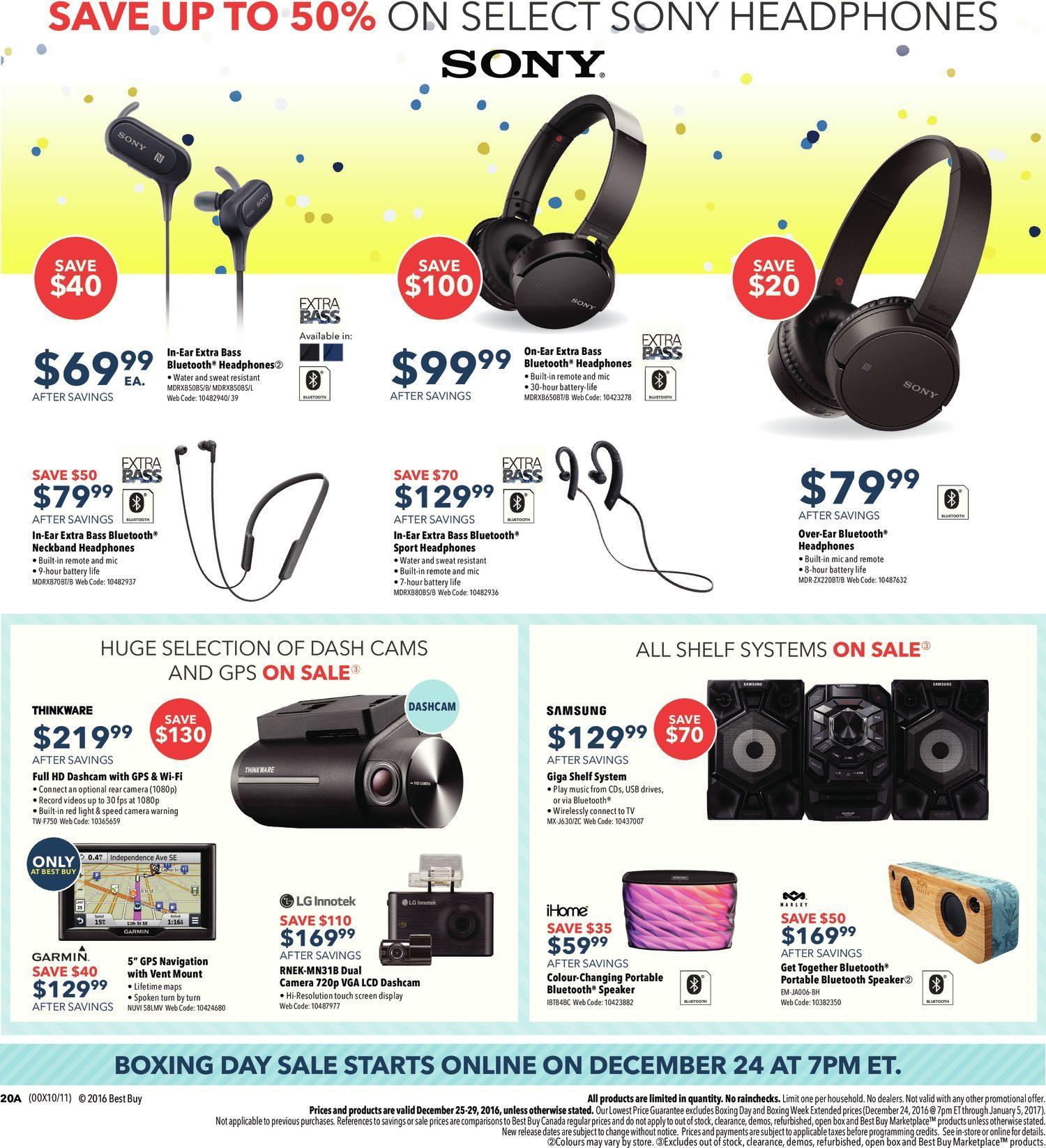 ec8c44bc53c Best Buy Weekly Flyer - Boxing Day Sale - Dec 25 – 29 - RedFlagDeals.com