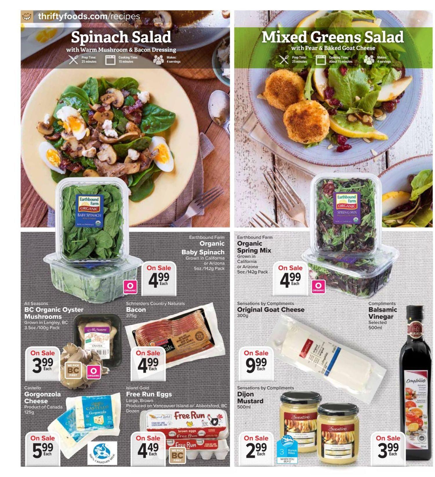 Thrifty Foods Weekly Flyer Specials Jan 11 17 Greenfields Yogurt Mango 125g