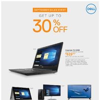 Dell - September Sales Event Flyer
