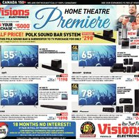 Visions Electronics - Weekly - Home Theatre Premiere Flyer