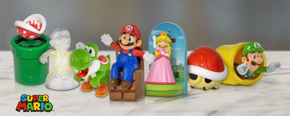 McDonald's and Nintendo Team up to Bring Super Mario Happy Meal Toys to Canada