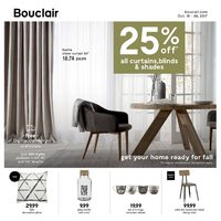 Bouclair - Get Your Home Ready For Fall Flyer
