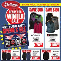 National Sports - Ready for Winter Sale Flyer