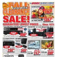 - Weekly - Fall Clearance Sale! Final Week Flyer