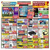 Factory Direct - Weekly - Massive Gift Sale Flyer