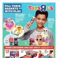 Toys R Us - Weekly - Fill Their Baskets With Play Flyer