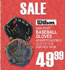 Wilson A450 Staff Baseball Gloves
