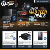 Newegg - Shop Mad Tech Deals Flyer