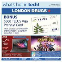 - What's Hot in Tech! Flyer