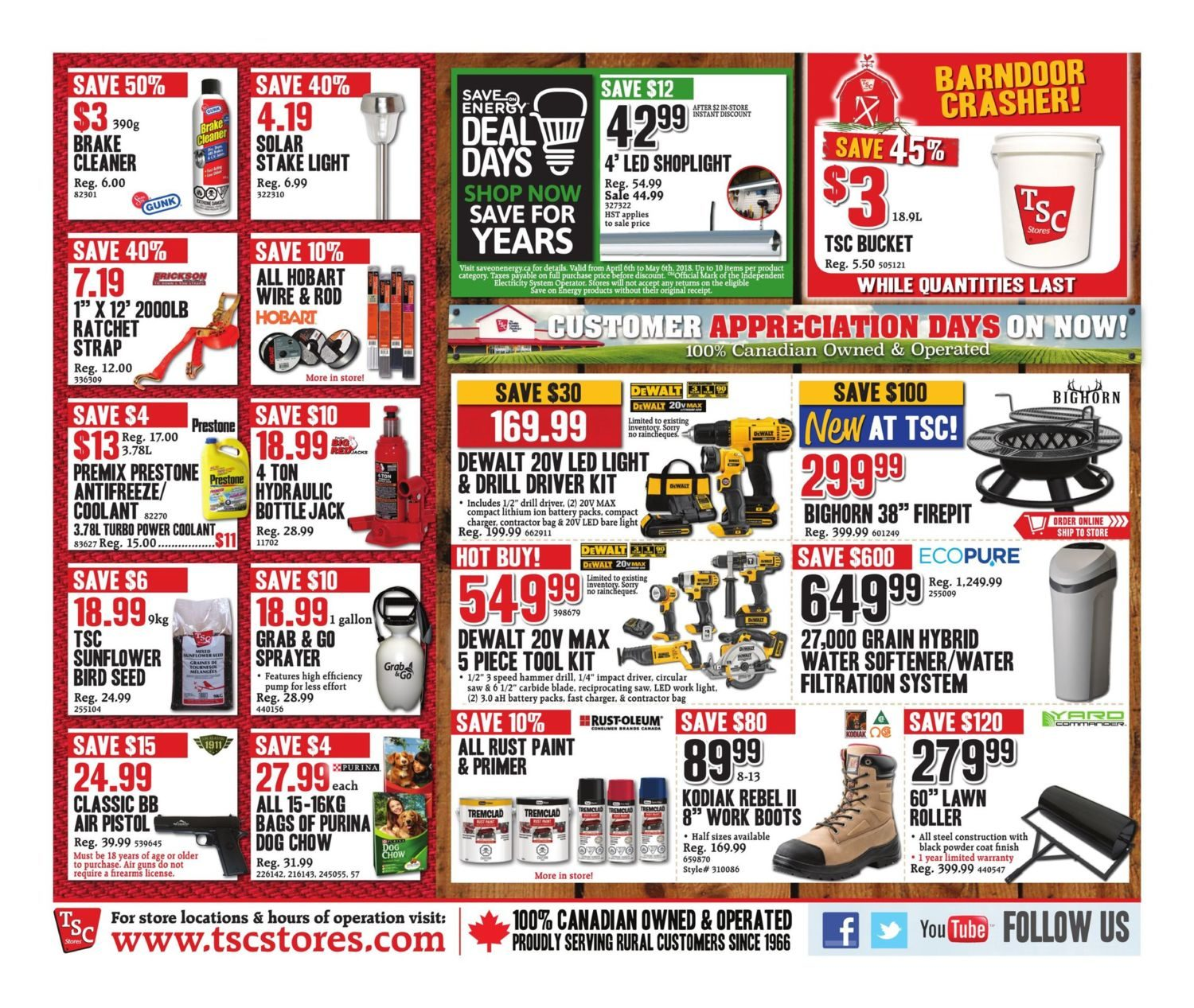 TSC Stores Weekly Flyer - Weekly - Apr 13 – 19