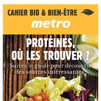 Metro - Organic & Well-Being Booklet Flyer