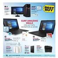 Best Buy - Weekly - Surf Amazing Deals Flyer