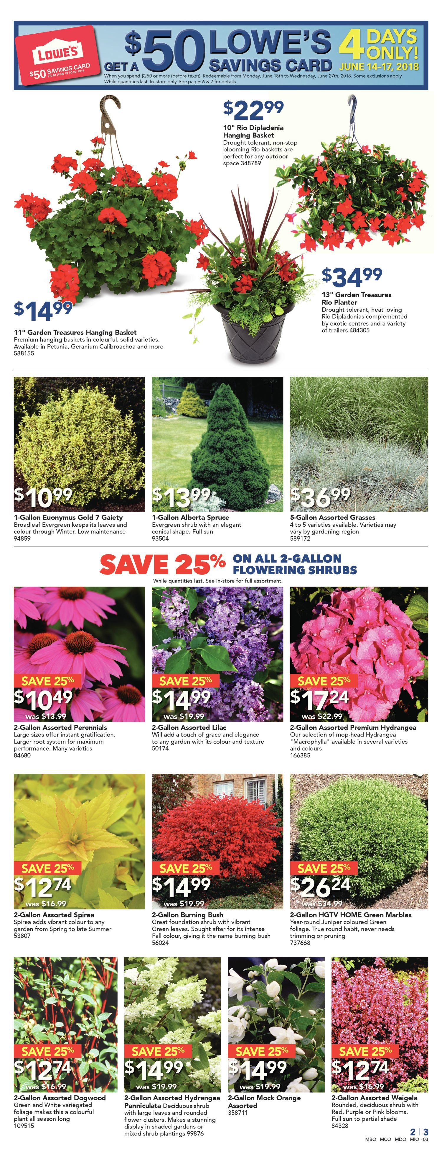 Lowes Weekly Flyer  Weekly  Big Outdoor Event