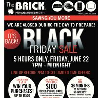 The Brick - It's Back! Black Friday Sale Flyer