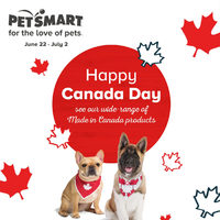 PetSmart - Happy Canada Day Flyer