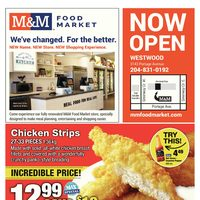 M & M Food Market - Westwood - Now Open Flyer