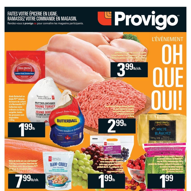 Provigo Weekly Flyer - Weekly Specials - Sep 27 – Oct 3