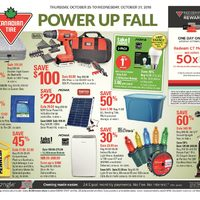 - Weekly - Power Up Fall Flyer