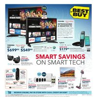Best Buy - Weekly - Smart Savings On Tech Flyer