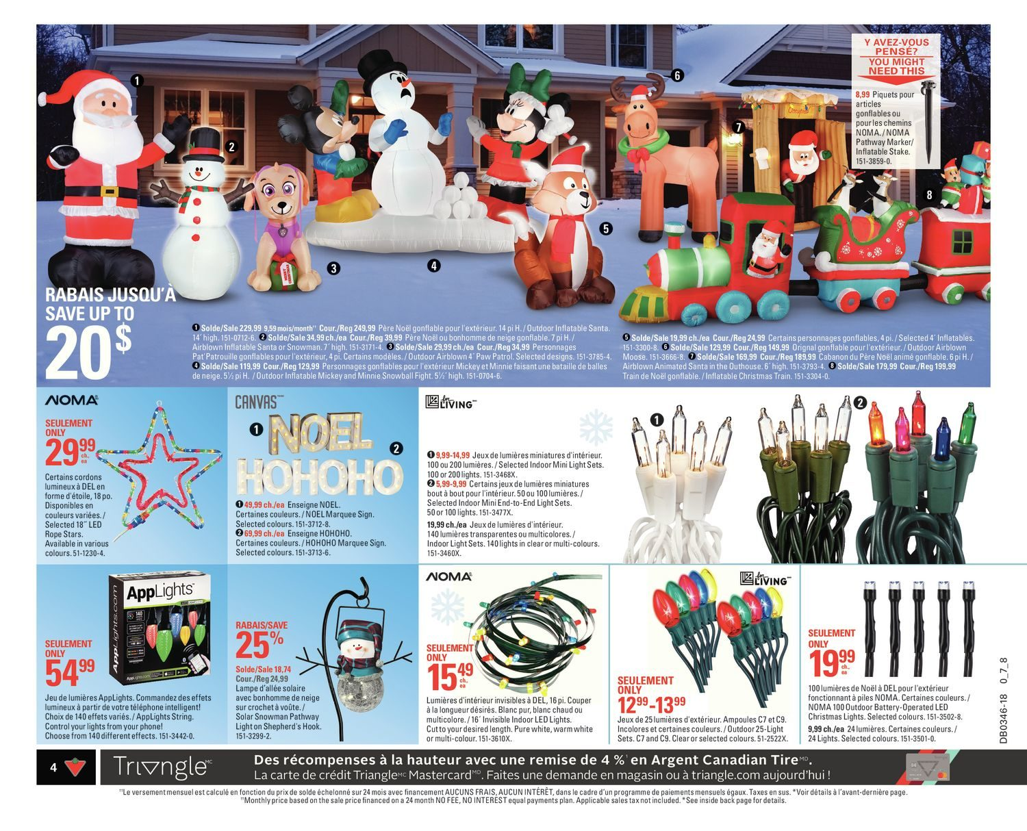 Canadian Tire Weekly Flyer Weekly Share The Joy Nov 8 14