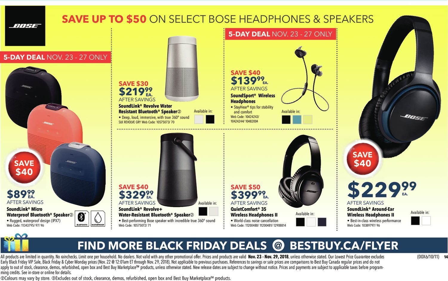 Best Buy Weekly Flyer - Weekly - Black Friday Sale - Nov 23