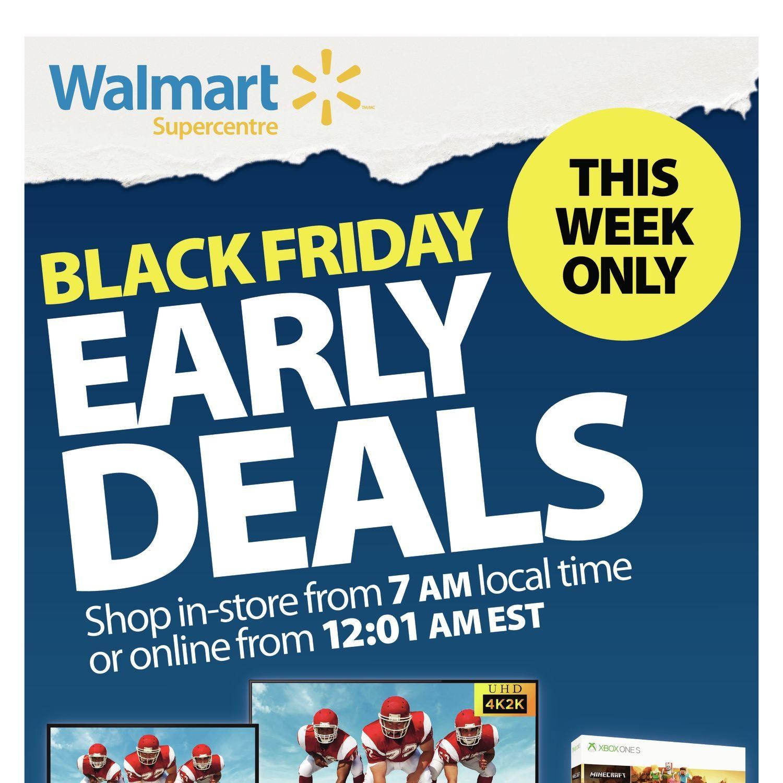 Walmart Weekly Flyer - Black Friday Early Deals - Nov 15
