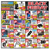 Factory Direct - Black Friday Sale Flyer