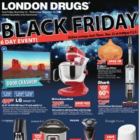 London Drugs - Black Friday 6 Day Event! Flyer