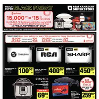 Real Canadian Superstore - Truly Super Black Friday Flyer