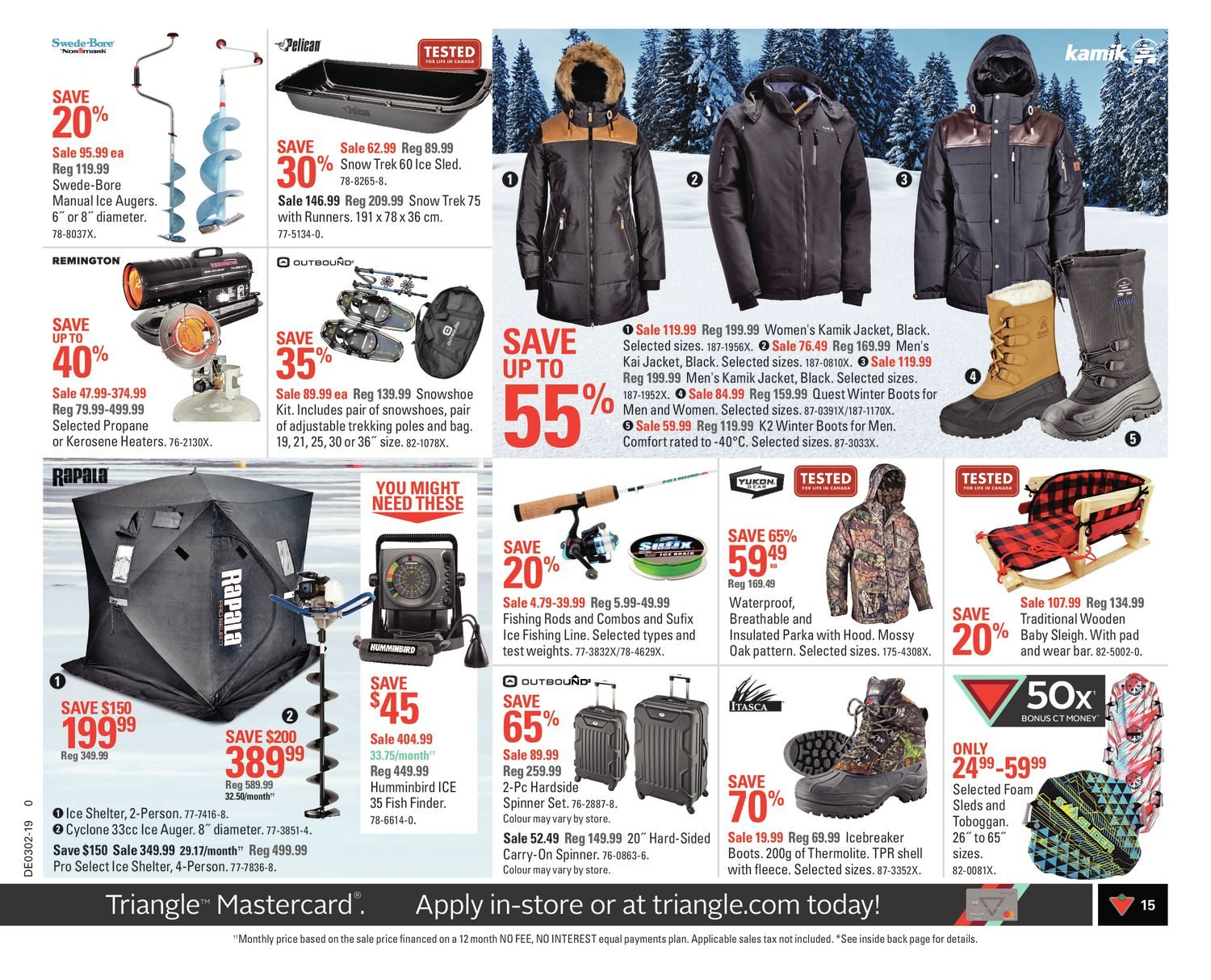 Canadian Tire Weekly Flyer - Weekly - Start Strong - Jan 4