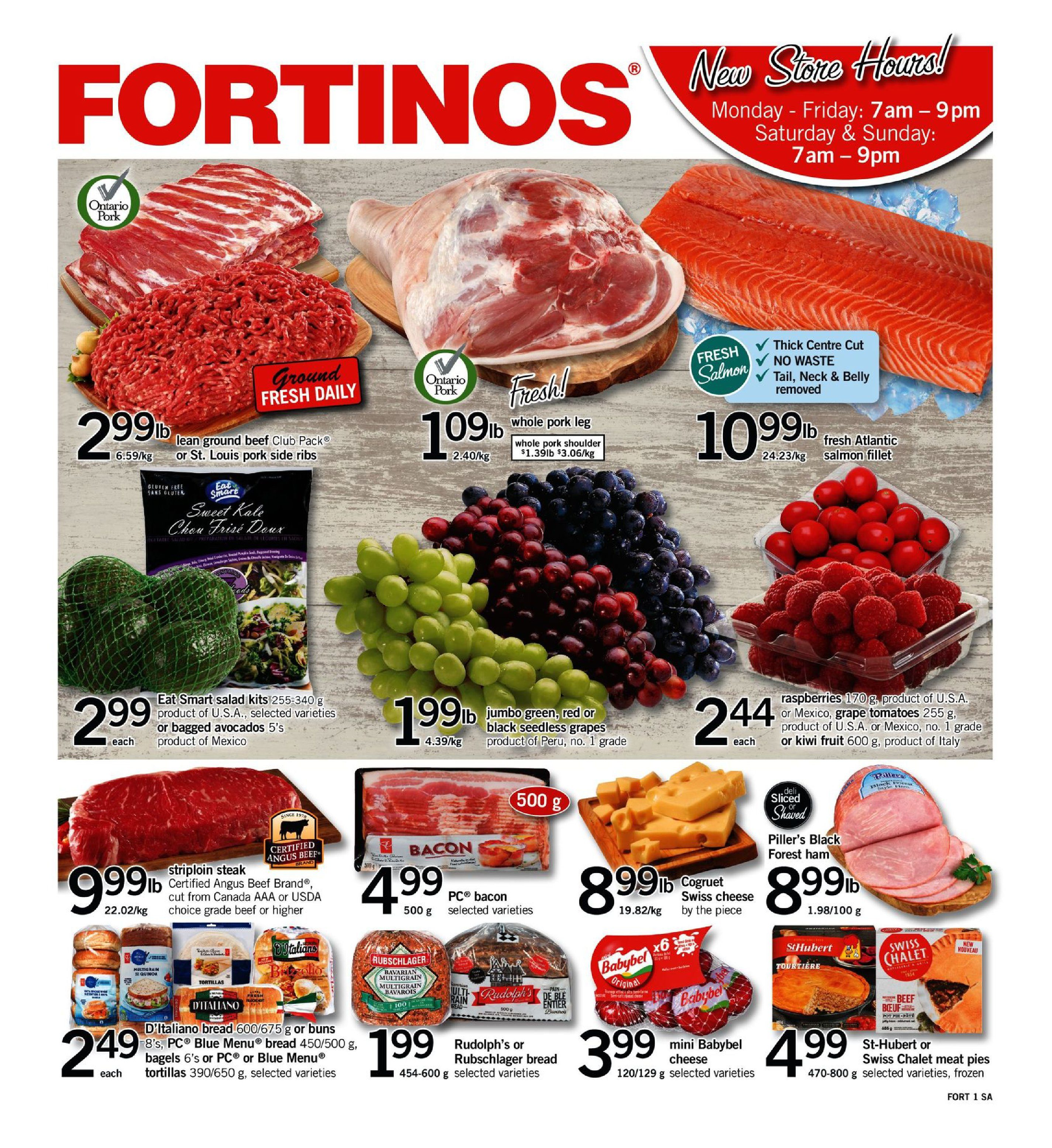 Fortinos Weekly Flyer - Weekly Specials - Jan 10 – 16 - RedFlagDeals com