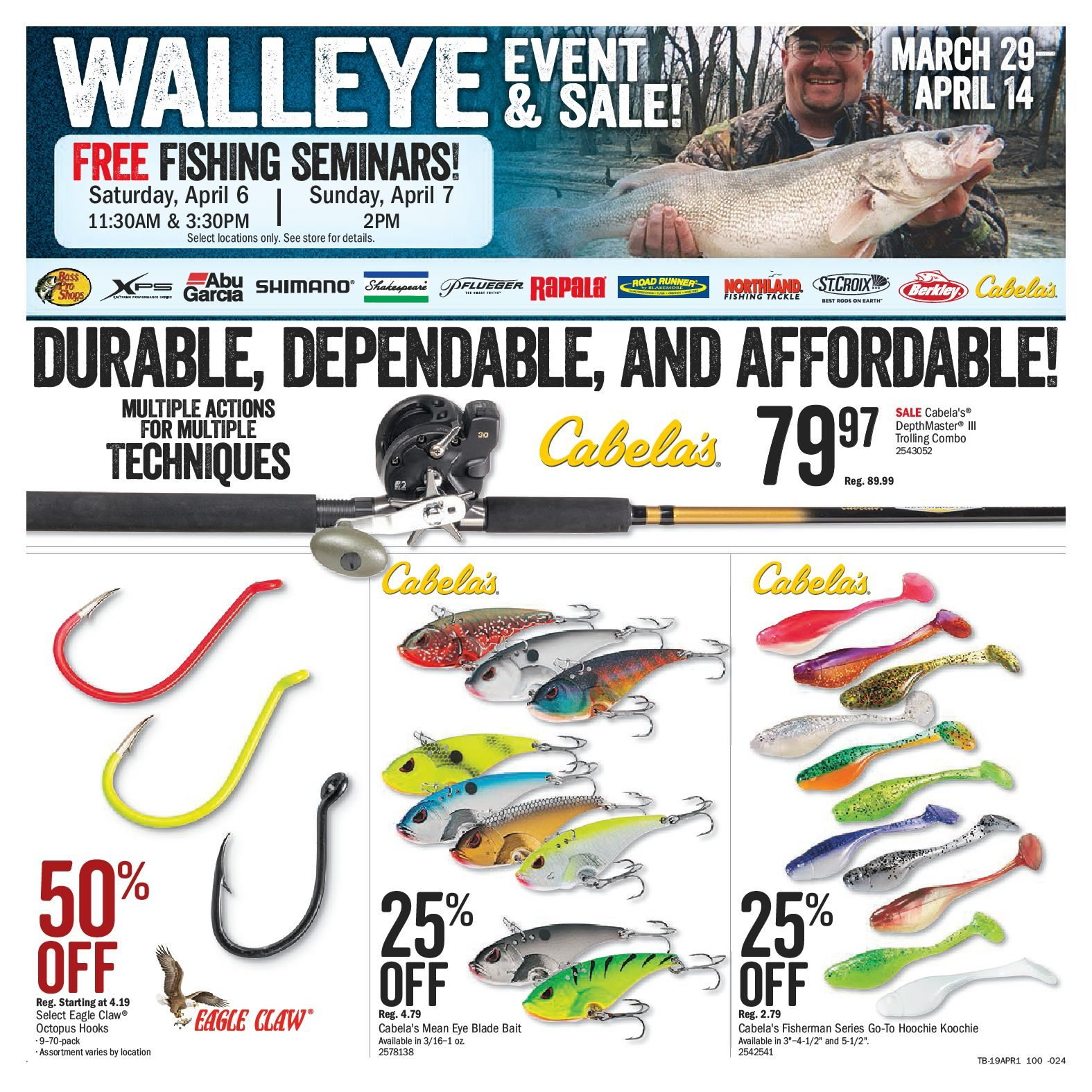 Bass Pro Shops Weekly Flyer - Vaughan Store Only - Spring