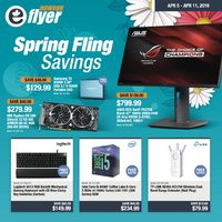 - Spring Fling Savings Flyer