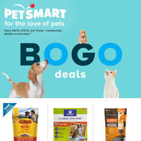 PetSmart - For The Love of Pets - BOGO Deals Flyer