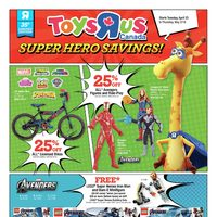 Toys R Us - Super Hero Savings! Flyer