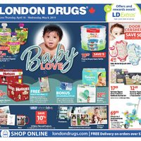 London Drugs - Baby Love Flyer