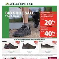 Atmosphere - 2 Weeks of Savings - Big Shoe Sale Flyer