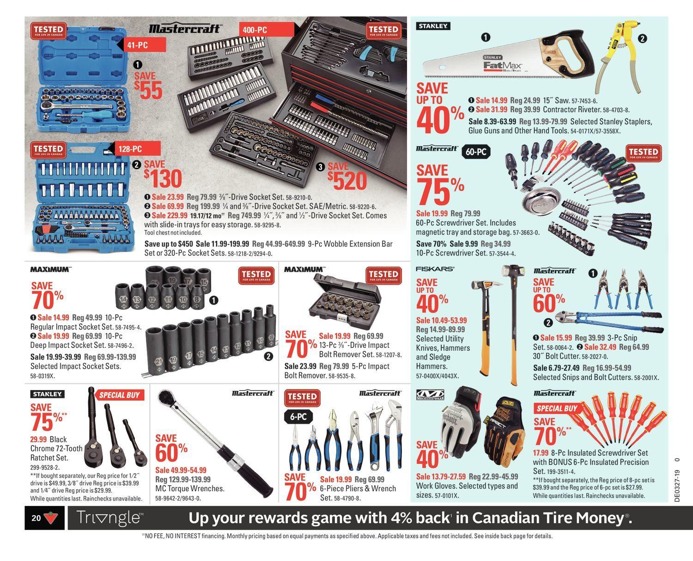 Canadian Tire Weekly Flyer - Weekly - Cheers Canada! - Jun