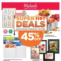 Michaels - Weekly - Super Hot Deals Flyer