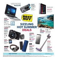 Best Buy - Weekly - Sizzling Hot Summer Deals Flyer