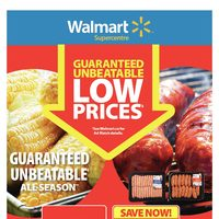 - Supercentre - Guaranteed Unbeatable Low Prices Flyer