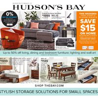 The Bay - Stylish Storage Solutions For Small Spaces Flyer