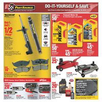 PartSource - Do-It-Yourself & Save Flyer