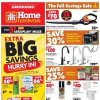 Home Hardware - Weekly - The Fall Savings Sale Flyer