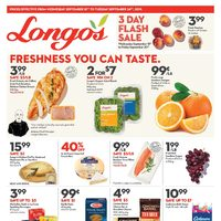 Longos - Weekly Specials - Freshness You Can Taste Flyer