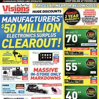 - Weekly - Manufacturers' $50 Million Electronics Surplus Clearout! Flyer