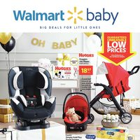 Walmart - Baby Book - Big Deals For Little Ones Flyer