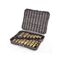Mastercraft 230-Pc Titanium-Coated Drill Bit Set