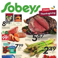 Sobeys - Weekly - Happy Thanksgiving Flyer