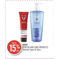 Vichy Dercos Hair Care Products